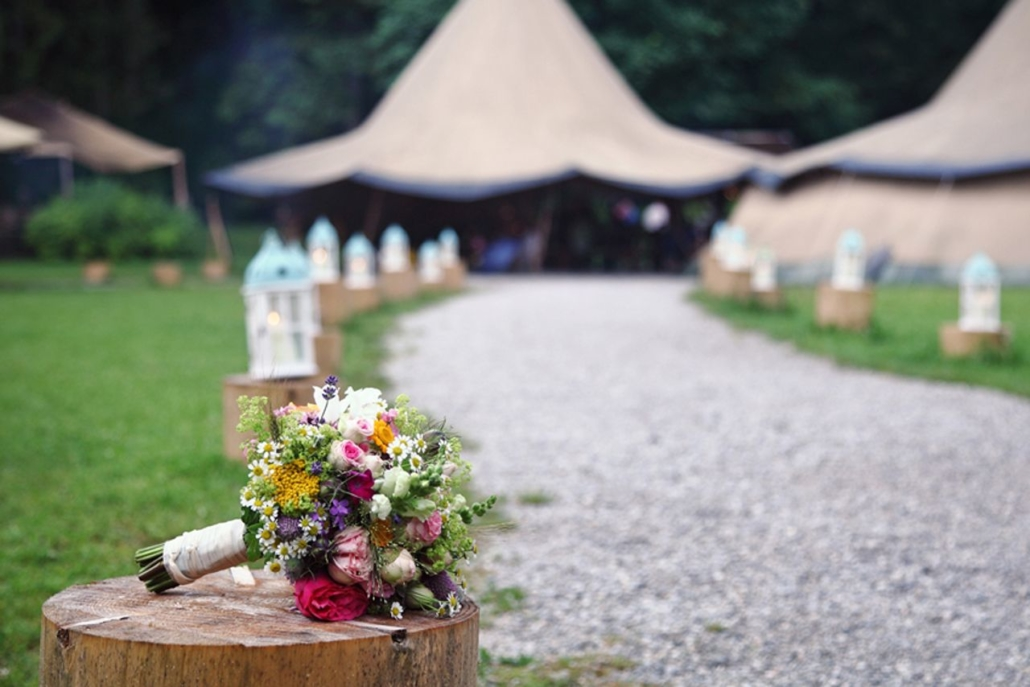 Hochzeitsfotografie Garmisch-Partenkirchen - Hotel Alpenblick - blueland.de