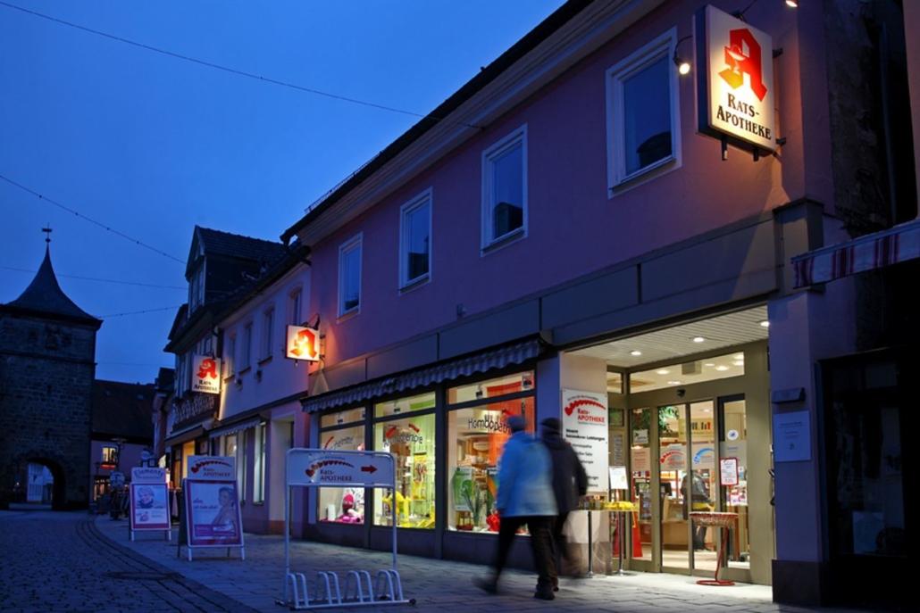 Werbefotografie Lichtenfels - Rats Apotheke